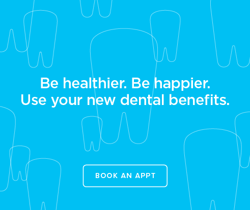 Be Heathier, Be Happier. Use your new dental benefits. - Chastain Park Dentistry